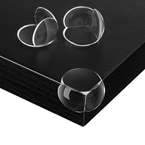 Lesfit Baby Sicherheit Eckenschutz Transparent, 20 Stück Schutzecken Kantenschutz Kinder für Tische Möbel