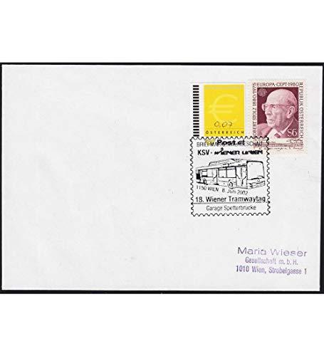 Goldhahn Österreich Ergänzungsmarke Nr. 2 auf Brief Briefmarken für Sammler