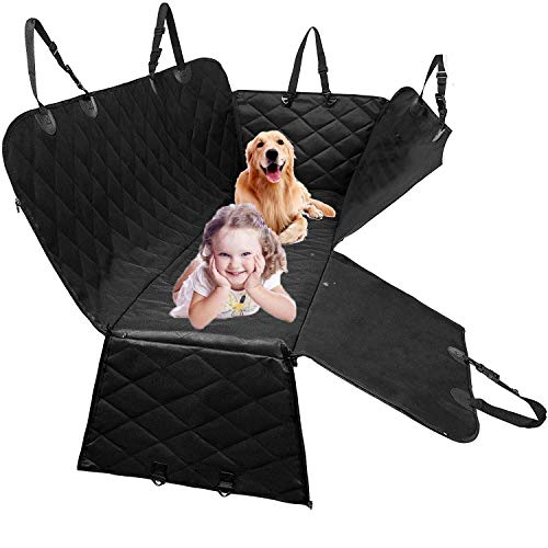 nonbrand Dog Back Seat Cover Protector Waterproof Scratch Proof Hammock Pet Car Seat Car Seat Covers for Dogs for Cars Trucks and SUVs