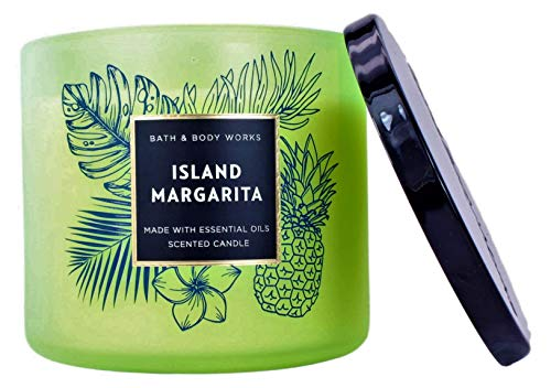 White Barn Bath and Body Works Island Margarita 3 Wick Scented Candle 14.5 Ounce