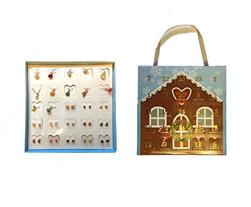Advent Calendar Nordic Necklace & Earring set -