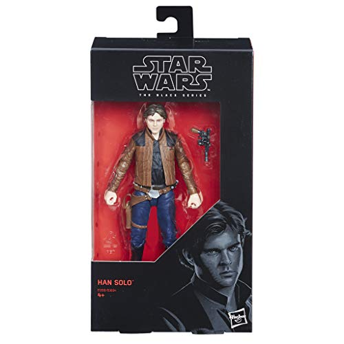 Hasbro Star Wars E1200ES0 The Black Series Figure Han Solo, Actionfigur - 6 Zoll