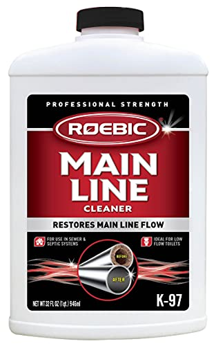 Best drain cleaner for main line