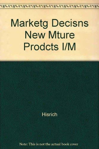 Marketg Decisns New Mture Prodcts I/M