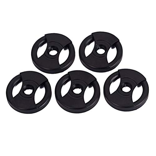 Artibetter 5 Stuks Vinyl Adapter Platenspeler Adapter 1L50 Enkele Vinyl Platenspeler Adapter Voor Grammofoon Platenspeler (Zwart)