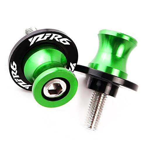 Tornillos de Soporte de 8 mm Motorcycle Sworkarm Spools Sliders para B-M-W para F800R 2010-2016 Bobinas de Soporte deslizantes (Color : Green)