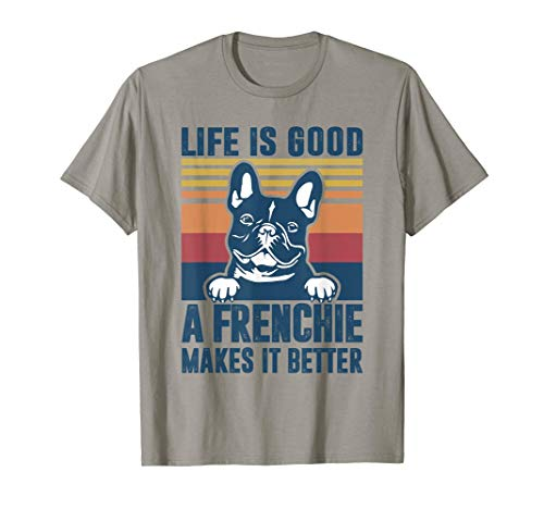 Frenchie Gifts For Women Men Frenchie Dad Mom French Bulldog T-Shirt