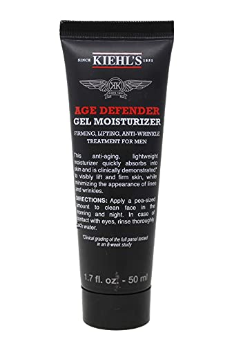 Kiehl's Age Defender Gel Moisturizer All Skin Anti-Aging for Men 1.7oz...