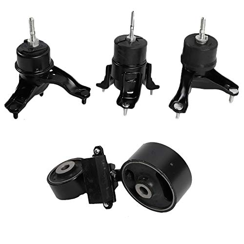 4pcs Motor Mounts Replacement for 2002-2006 Camry 2004-2008 Solara 2.4L Engine wAuto Trans Kit A4203 A4211 A4204 A4207
