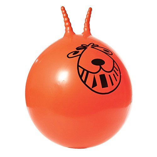 """Funtime Retro Space Hopper New Adults Kids Large 24"""" Sit On Outdoor Toy & Foot Pump"""