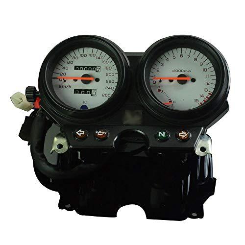 FastPro Motorrad Tachometer Kilometerzähler Instrument Tacho Gauge Cluster Meter für CB600 Hornet 600 1996-2002