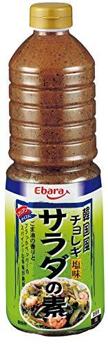 エバラ食品工業 エバラ 韓国風サラダの素 チョレギ 塩味 1L [8775]