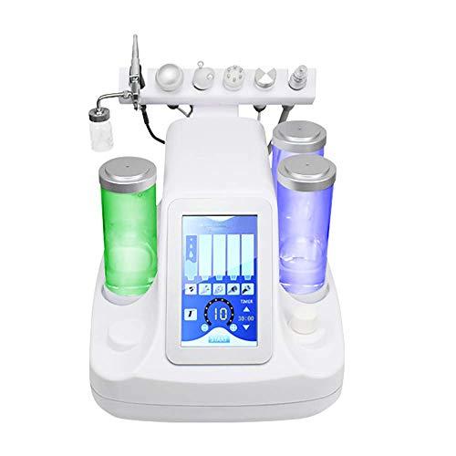 BEAUTTO 6 in 1 Multifunktionale Vakuum-Uction Mitesser-Akne-Entfernung, Wasser, Sauerstoff, Maschine, Hydro-Dermabrasionsspray, feuchtigkeitsspendende Verjüngung Haut Maschine