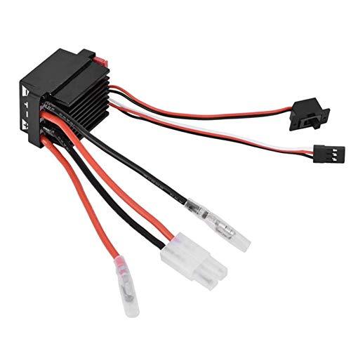 Dilwe 320A Brushed ESC, Elektronischer Drehzahlregler ESC mit Bremse für RC Auto Boot