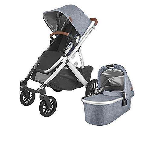 UPPAbaby Vista V2 Stroller in Gregory Blue Melange