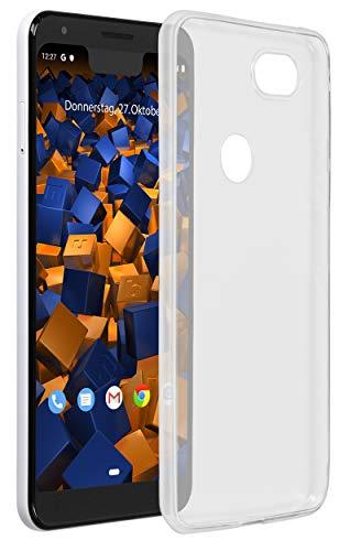 mumbi Hülle kompatibel mit Google Pixel 3a XL Handy Hülle Handyhülle dünn, transparent