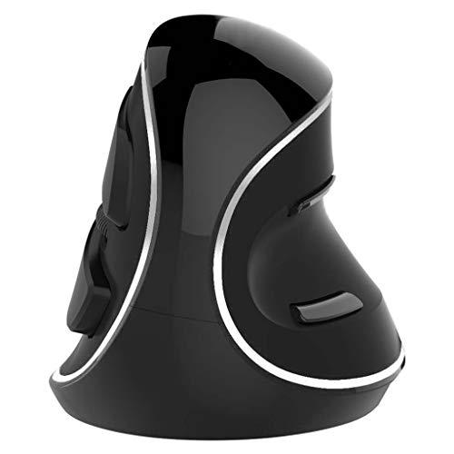 CARRYKT M618 Plus Ergonomie Vertikale Gaming-Maus 6 Tasten 4000 DPI Kabelgebundene/drahtlose RGB-Mäuse für die rechte Hand für PC-Laptops