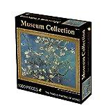 Maya Star 1000 piezas de juguetes educativos de descompresión para niños adultos (flor de albaricoque)