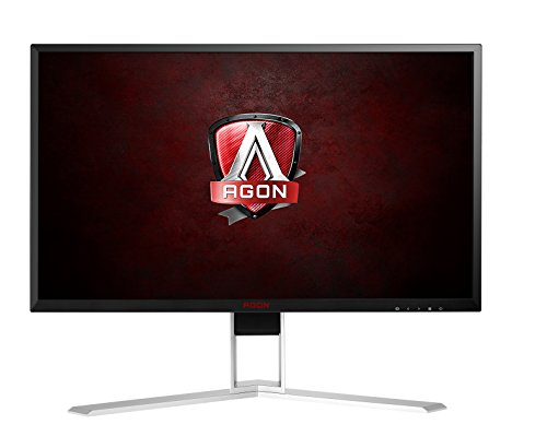 AOC AGON Gaming Monitor 24' (AG241QX), QHD 1440P, G-Sync Compatible + Adaptive-Sync, 144Hz, 1ms, Quickswitch Keypad, Vesa