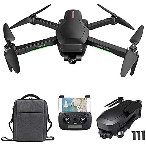J-Clock Drone GPS, Drone WiFi 5G con videocamera HD 4K, Giunto cardanico a 2 Assi, Motore brushless, quadricottero RC con Posizionamento del Flusso Ottico con Borsa per Il Trasporto
