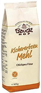 Bio - Kichererbsenmehl - glutenfrei - 2er Pack 2 x 500 g von Bauck