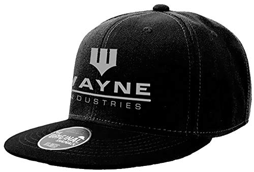 Wayne Industries Batman Gotham Snapback SCHWARZ