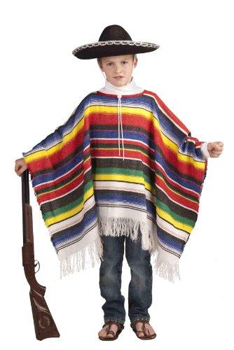 Déguisement pour enfant - Poncho mexicain