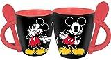 Disney 3 Mickey's Espresso Cup with Spoon