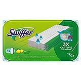Swiffer - Lingettes Humides pour Balai Attrape-poussière pour Sol - 12Lingettes