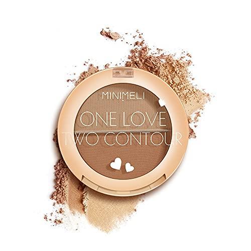 Contour Makeup Palette, Natural Long Lasting Cream Matte Bronzer...