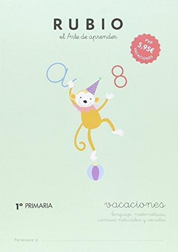 RUBIO VACACIONES - 1º PRIMARIA - 9788415971610