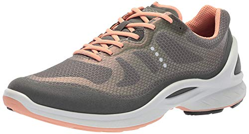 ECCO Women's Biom Fjuel Tie Walking Shoe, Dark Shadow/Dark Shadow, 38 EU/7-7.5 M US
