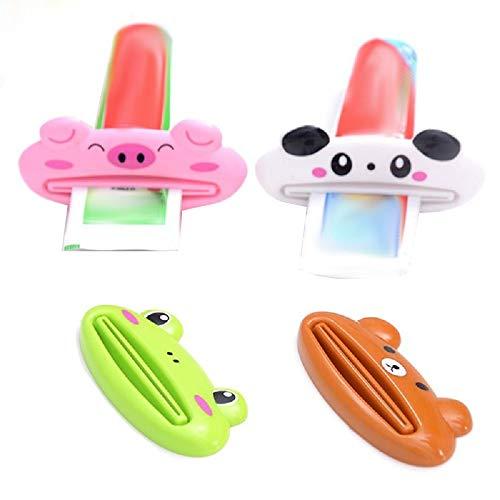 Lovelegis Spremi dentifricio - per Bambini - Divertente - casa - Bagno - Accessori - Crema - tubetto - Colore Random