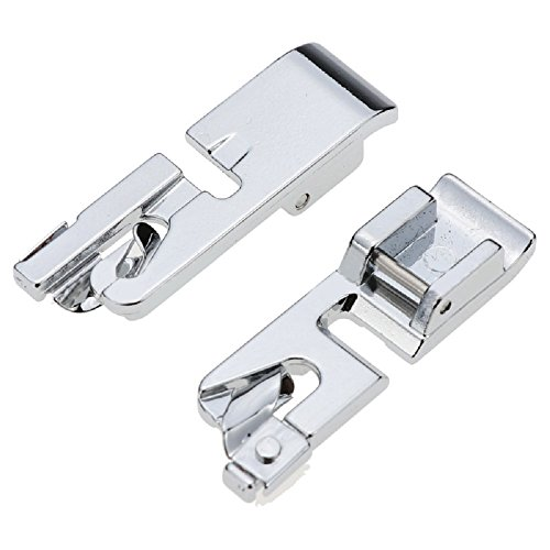 TFBOY Narrow Rolled Hem Sewing Machine Presser Foot - Fits All Low Shank Snap-On Singer, Brother, Babylock, Euro-Pro, Janome, Kenmore, White, Juki, New Home, Simplicity, Elna and More!
