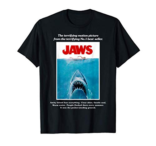 Jaws Movie Poster Camiseta