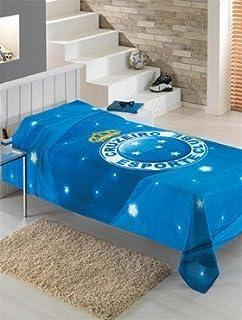 Dohler Cruzeiro Esporte Clube Bedspread Full Size Made in Brazil