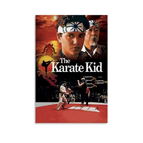 Hxinyi Karate Kid Filmposter, dekoratives Gemälde, Leinwand, Wandkunst, Wohnzimmer, Poster, Schlafzimmer, Gemälde, 60 x 90 cm