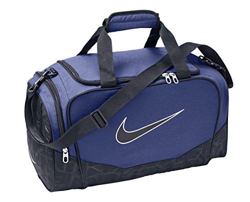 Nike Brasilia 5SMALL Duffel/Grip Tasche, Herren, Herren, Blau/schwarz (Midnight Navy/Black/(Black)), MISC