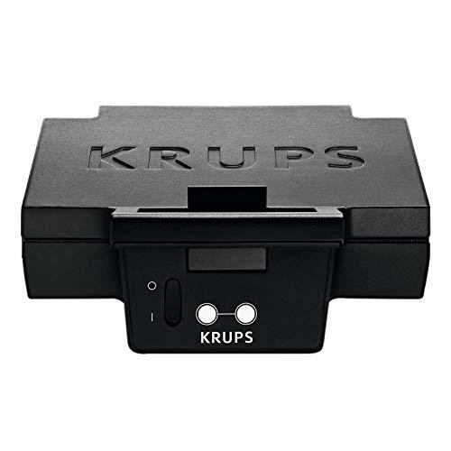 Krups F DK4 51 - Sandwichera (Negro)