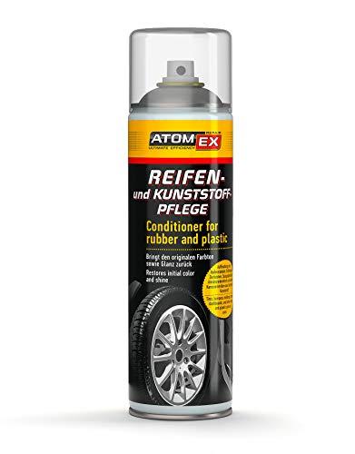 XADO Reifen-Pflege Kunststoff-Pflege Politur Auffrischung Reifen-Glanz - Reifen ATOMEX (Reifen- und Kunststoffpflege)