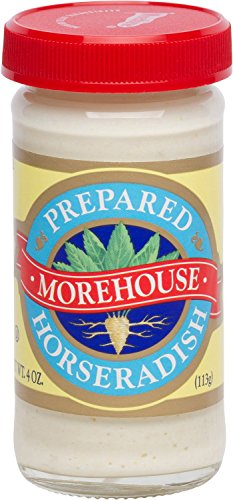 Morehouse Prepared Horseradish 4 oz Jar (2 Pack) Kosher