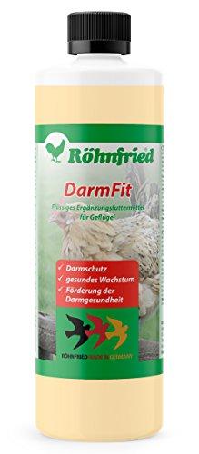 Röhnfried – DarmFit Ergänzungsfuttermittel mit Spurenelementen Konzentrat (5 ml/Liter Trinkwasser) für Geflügel: Hühner, Puten, Gänse, Enten | Immunabwehr und Darmgesundheit (1000 ml)