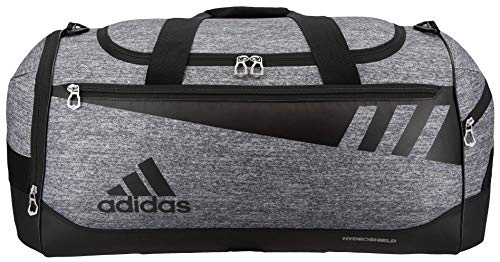 adidas Unisex Team Issue Small Duffel Bag, Onix Jersey/Black, ONE SIZE