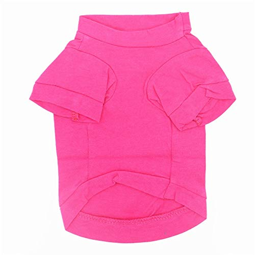 Suéter de perro Cómodo Y Transpirable Rose Red Girl Candy Bar Pattern...
