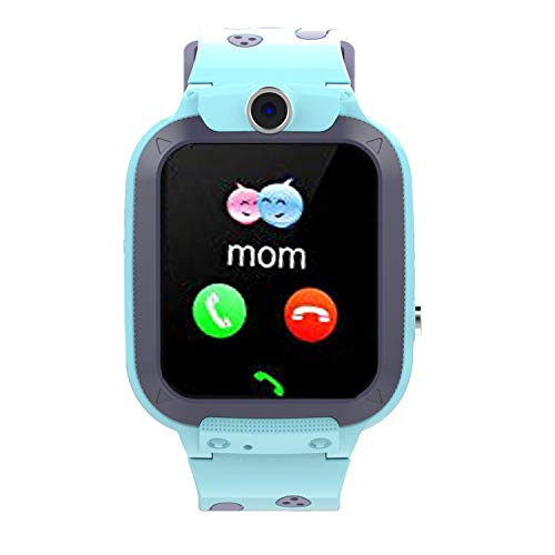 Kids Smart Watch GPS Tracker - Waterproof GPS Tracker Watch for Children Kids with SOS Call Camera Touch Screen Game Alarm for Boys and Girls