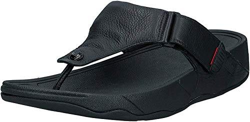fitflop Men's Trakk Ii Flip Flop, All All Black, 11 M US