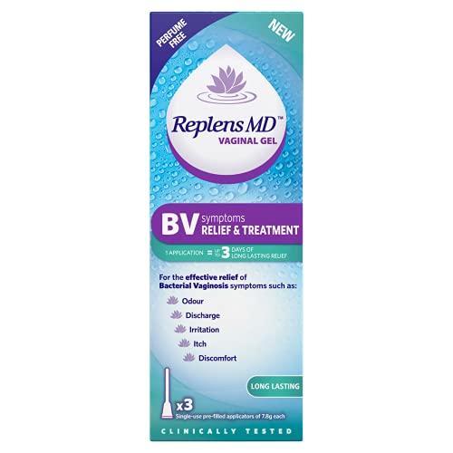 Replens BV Symptoms Relief & Treatment Vaginal Gel - x3 Single use...