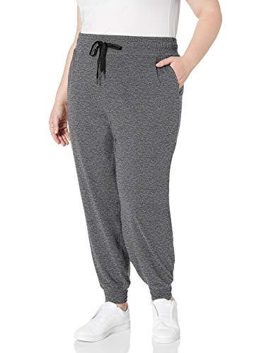 Amazon Essentials Plus Size Brushed Tech Stretch Jogger Pant - athletic-sweatpants Mujer