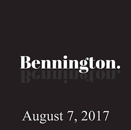 Bennington, Colin Quinn, August 7, 2017 audiobook cover art
