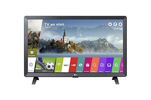 Smart TV LED 24' Monitor LG 24TL520S, Wi-Fi, WebOS 3.5, DTV Machine Ready